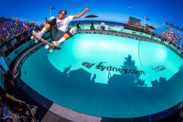 Australian Open of Surfing Skate Bowl
