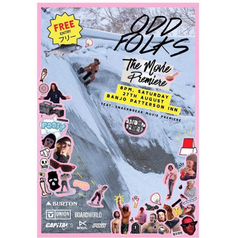 Odd Folks the Movie premiere